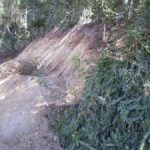 Ch 880 – Merging of upslope treatment area with untouched naturally vegated slope scope