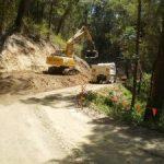 Ch 2200 – Excavator filling truck.