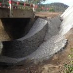 Ch 1075 Stormwater drainage from road pavement to under bridge structure