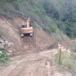 Ch 1190 - Ch 1260 embankment cutting