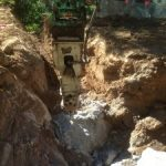 Ch 1260 rock in excavation for stormwater pipe crossing