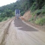 Ch 1550 Importing the road pavement gravel