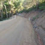 Ch 2260 to Ch 2360 Completed road pavement