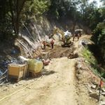 Ch 810 to 860 installation of soil nails shotcrete walling